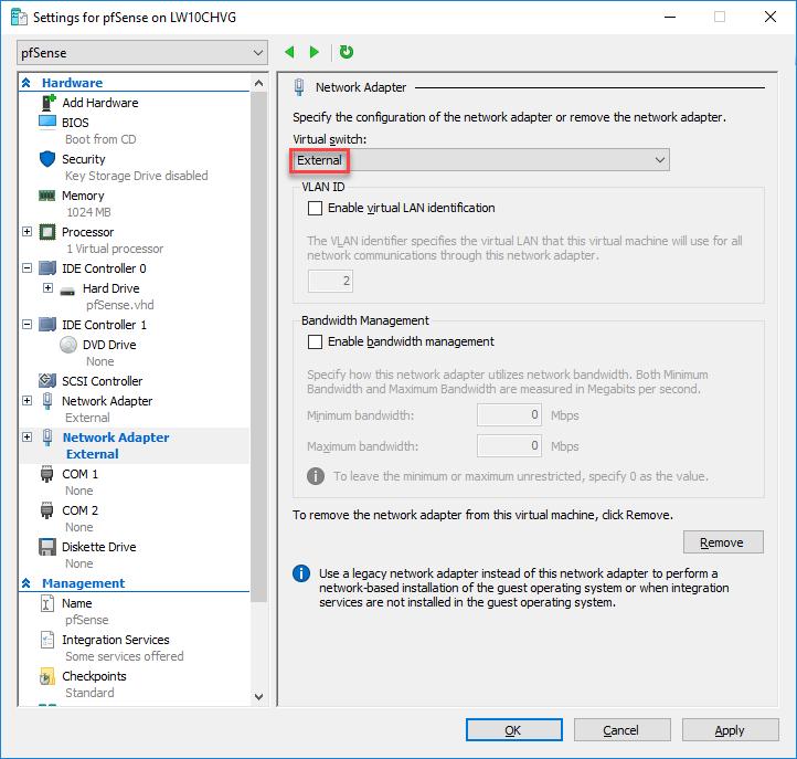 pfSense on Azure - Part 1 - Create pfSense Virtual Machine